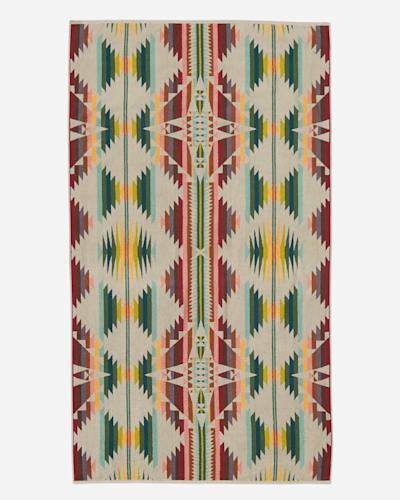 FALCON COVE SPA TOWEL IN TAN MULTI