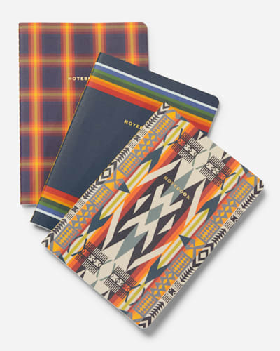 NOTEBOOK COLLECTION, SET OF 3 IN MULTI