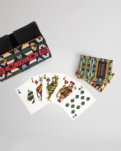 PENDLETON PLAYING CARDS, SET OF 2 IN MULTI