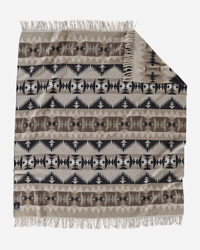 SONORA FRINGED THROW IN TAN