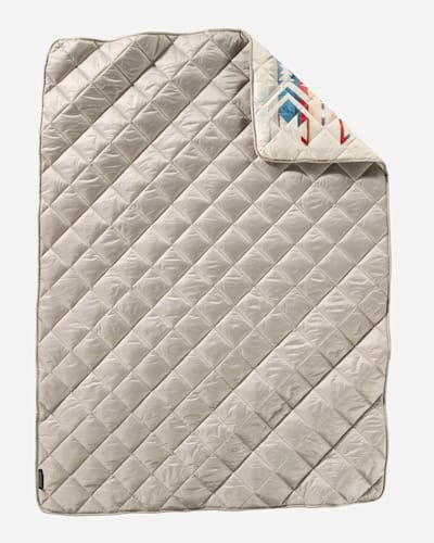 WHITE SANDS PACKABLE THROW IN TAN
