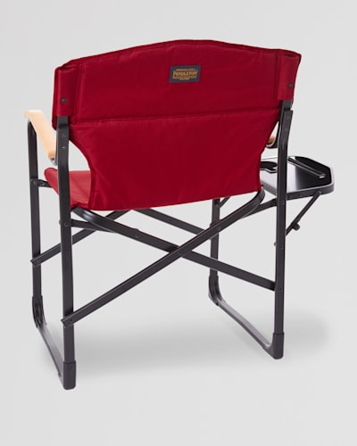 FOLDING CAMP CHAIR IN DAHLIA RED